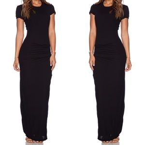 James Perse Black Maxi Dress